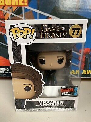 Funko Pop Television Game of Thrones Missandei NYCC Fall Convention Exclusive 77