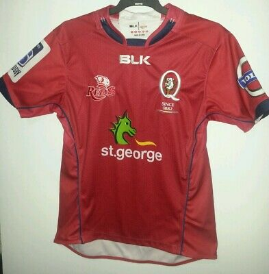 Queensland Rugby Reds Players Jersey Size Small  Mens  Superugby Volvo