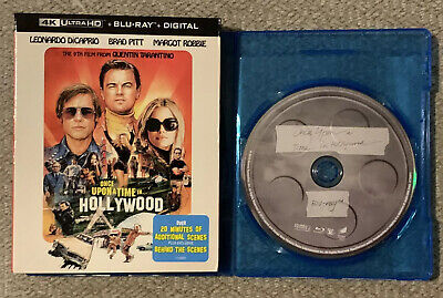 Once Upon a Time in Hollywood (Blu-ray Disc ONLY + Slipcover/BlankCase) SEE INFO