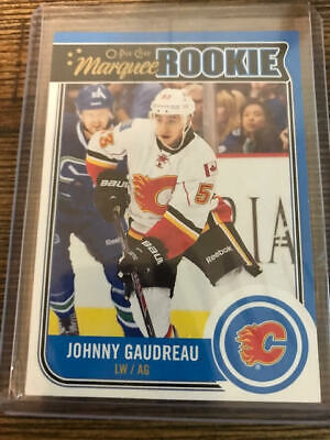 2014-2015 - O-Pee-Chee - Johnny Gaudreau - Marquee Rookie - RC