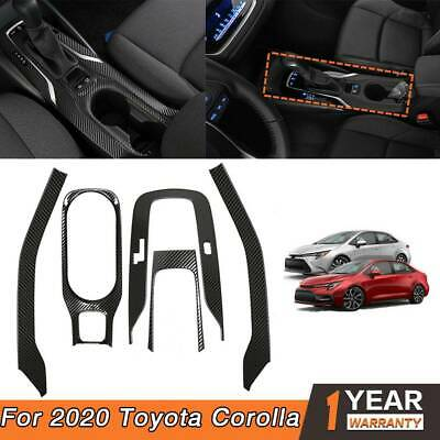 For 2020 Toyota Corolla Car Inner Gear Panel Water Cup Holder Cover Trim Kit NEW