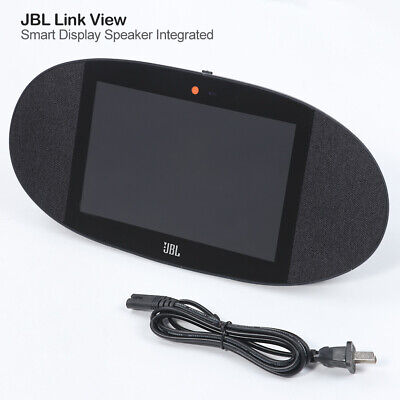"""JBL Link View 8"""" Wireless Smart Speaker Integrated Google Home Assist HD Touch"""