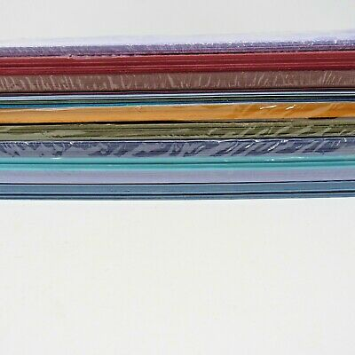 """Stampin' up Card stock Lot of 10 partial packages various colors 8.5"""" x 11"""" 160+"""