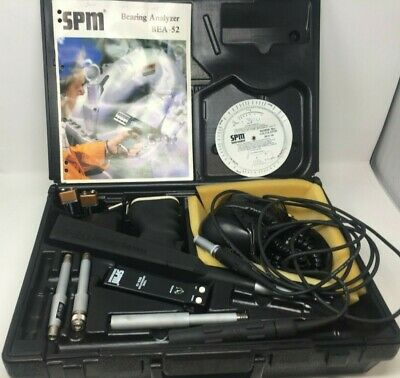 SPM Instrument BEA-52 Bearing Analyzer