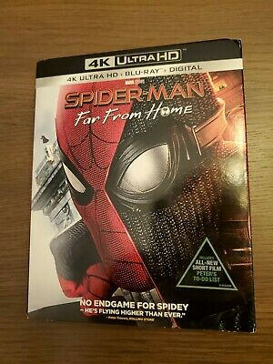 Spider-Man: Far From Home (2019, 4K Ultra HD Disc)