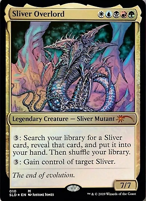 FOIL Silver Overlord SECRET LAIR Kaleidoscope mtg magic the gathering PREORDER