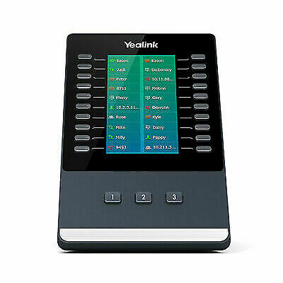 Yealink EXP50 IP add-on module 23 buttons Black,Grey