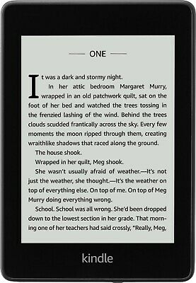 Latest Amazon Kindle Paperwhite E-reader Waterproof with Special Offers 32g BLK