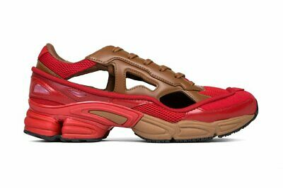 ADIDAS BY RAF SIMONS Scarlet & Rust RS Replicant Ozweego Lace up Trainers