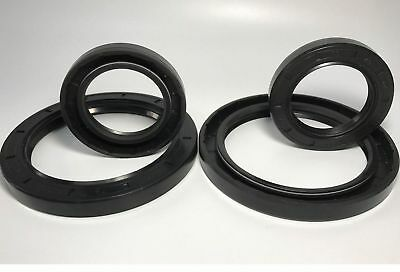 Select Size ID 31 - 34mm TC Double Lip Rubber Rotary Shaft Oil Seal with Spring