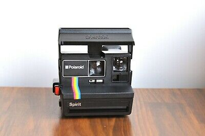 POLAROID SPIRIT  LAND 600 Instant Film camera      - Tested  * Working *