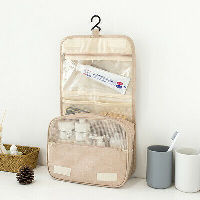 Hanging Travel Toiletry Wash Makeup Storage Bag Folding Carry Pouch Organizer