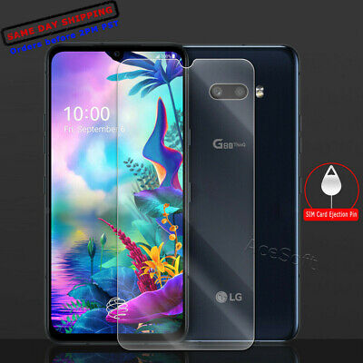 Premium Tempered Glass Film Screen Protector For LG G8X ThinQ Guard Shield Saver