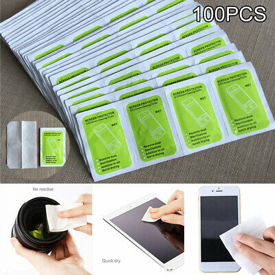 100X Screen Cleaning Wet Wipes for Glasses Camera Lens TV Phone Computer iPad