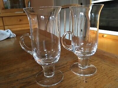 Dartington Irish Coffee Glasses by Frank Thrower