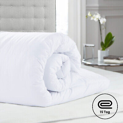 Anti Allergy Winter Warm Duvet Quilt Single,Double,King Size 15 Tog Or Pillows