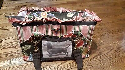 Rebecca Ray Pet Carrier Handbag Tote