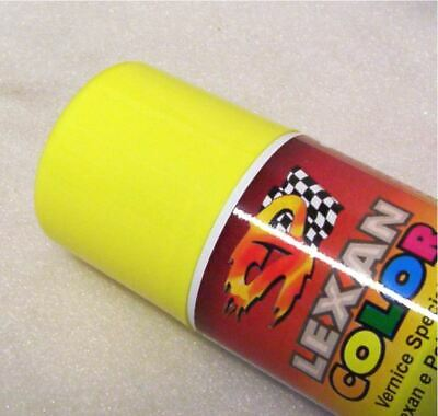 "Colore Vernice spray ""SP Racing"" per Carrozzeria Body in Lexan Giallo Ferrari"