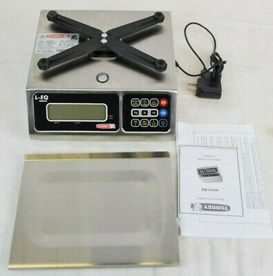 Tor-rey LEQ 5//10 Portioning Bench Scales 10 lb x 0.002 lbs
