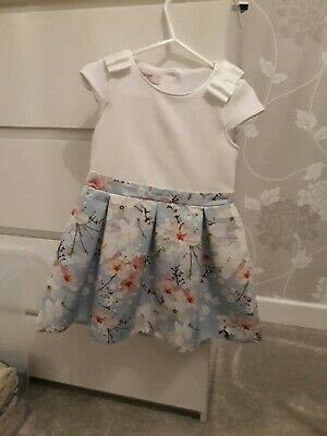 Ted Baker girls dress VGC aged 2 to 3 years