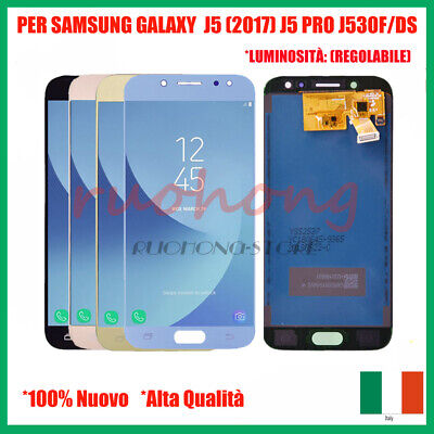 LCD Display+Touch Screen per Samsung Galaxy J5 2017 J530 SM-J530F Vetro Schermo