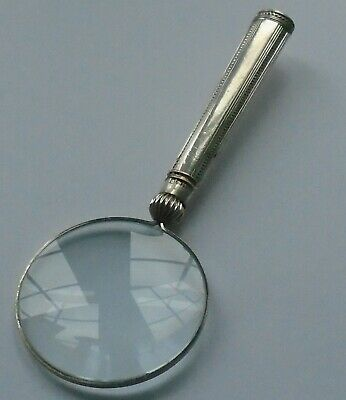 George Howson HM Silver Handle Magnifying Glass Sheffield 1913