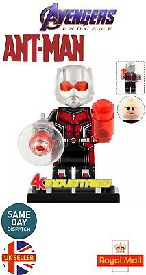 Ant-man Lego Fit Figure Avengers End Game Large Ant Man The Wasp XL UK Seller