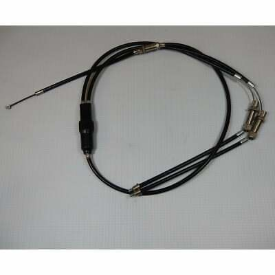 Norton Commando Fastback Throttle Cable Set 2-1 With Junction Box