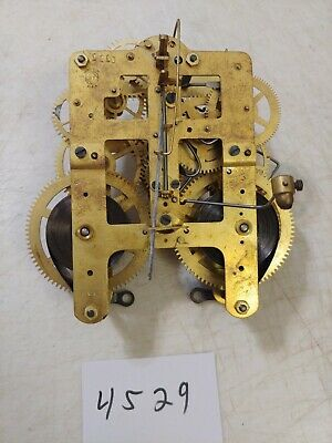 Antique Seth Thomas  Tambour Mantle Clock  Movement 89 Sentinel #7