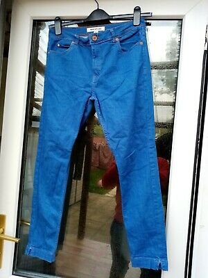 Whistles Blue Women's Skinny Stretch trousers jeans size W30L26