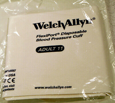 Welch Allyn Flexiport Disposable Blood Pressure Cuff   901044   Size: Adult 11