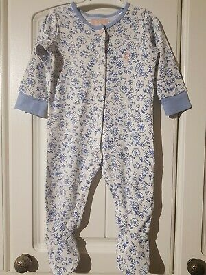 JOULES Baby Girls 3-6 Months Long Sleeved Babygrow (A312)