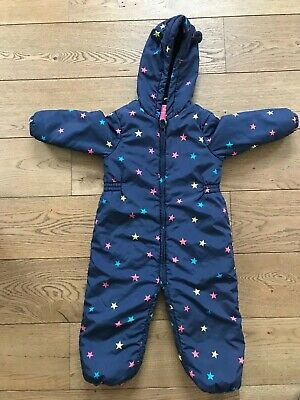 Next stars snowsuit 2-3 years girl
