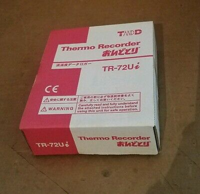 T&D Thermo Recorder TR-72Ui