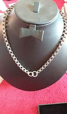 Fine Quality Antique Victorian  Silver Book Chain Collar Necklace