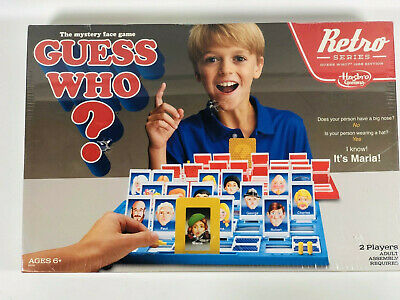HASBRO GUESS WHO? Game Retro Series 1988 Edition New Sealed