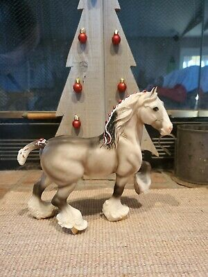 Retired Shire Breyer: 2002 #627 Light Dapple Grey