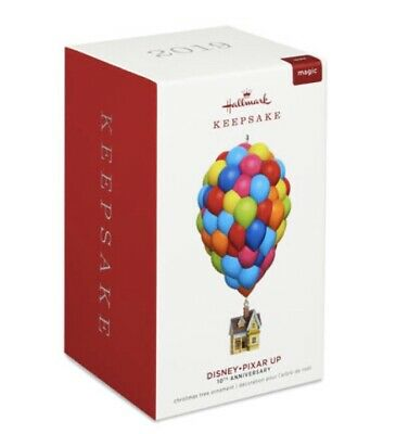 Hallmark 2019 Up Disney/Pixar MAGIC 10th Anniversary Ornament Mint in Box