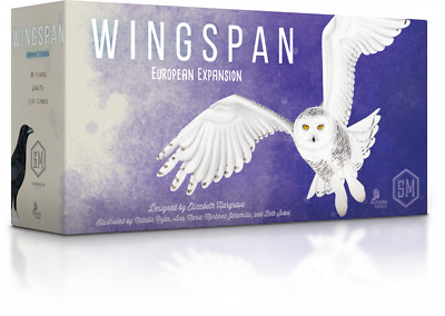 Wingspan European Expansion By Stonemaier Games