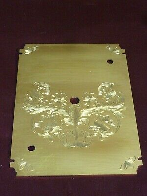 William Gray Lantern Clock Dial Plate