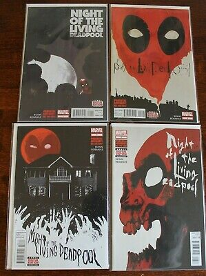 Night Of The Living Deadpool #1 - #4