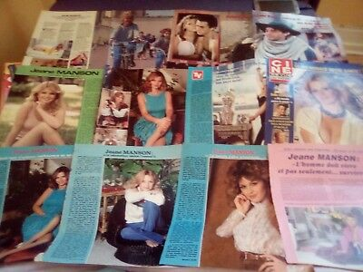 Clippings jeane Manson