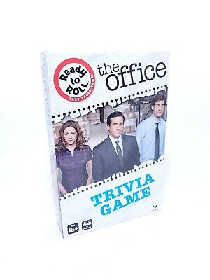 The Office Trivia Game Boardgame Ready to Roll Fast Paced Game NEW