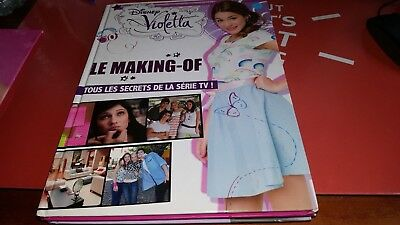 Le making of violetta  disney