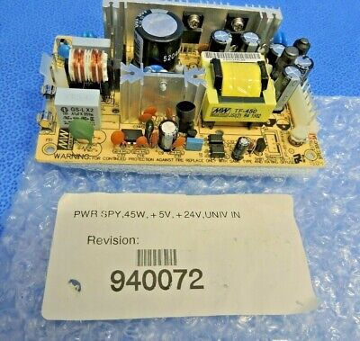 NEW Mean Well TF-450 Switching DC Power Supply 45W 5V 24V / Dionex AS-DV AS40