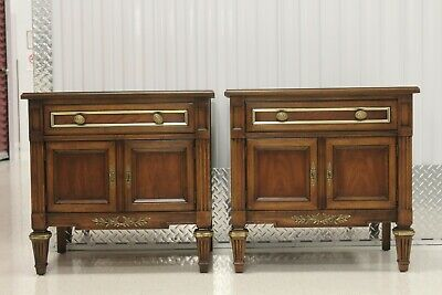 Pair White Fine Furniture Provence Night Stands # 695-71