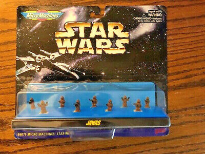 STAR WARS MICRO MACHINES Jawas MINI FIGURE SET - New Sealed SHIPS SAME DAY