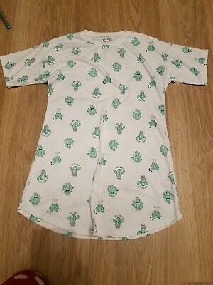 Girls Matalan white cactus pattern knighty......age 13 years