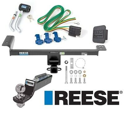 "Reese Trailer Tow Hitch For 15-19 Range Rover Evoque Deluxe Wiring 2"" Ball Lock"