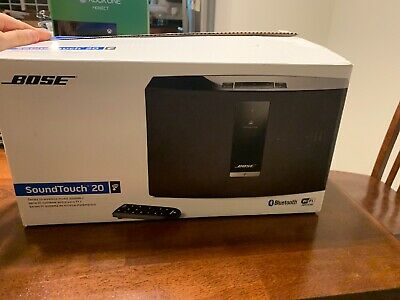 Bose SoundTouch 20 Series III Wireless Aux Music System w/ Cord And New Remote